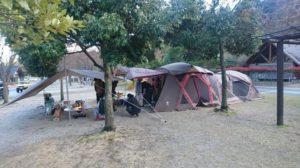 今どきのテント